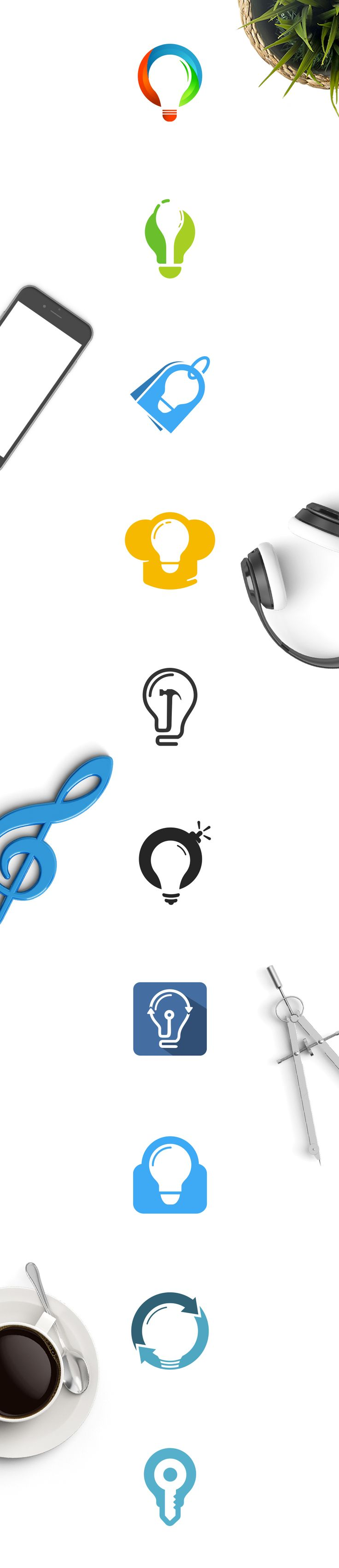 Cool bulb designs. Awesome logo for sale ! Hurry up and get the logo you like !  Avarage price: ONLY 149$ - Extended License