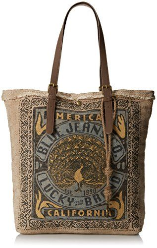 Lucky Brand California Travel Tote,Blue,One Size                                                                                                                                                      More