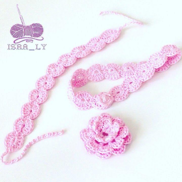 Crochet Bracelet - كروشيه إسورة