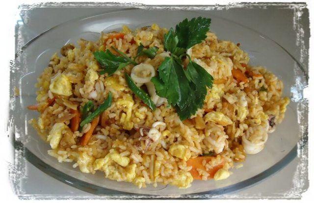 Resepi Nasi Goreng Tom Yam Sedap And Simple Nasi Goreng