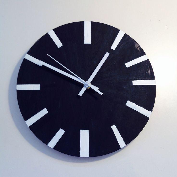 Hand Made DIY wall clock