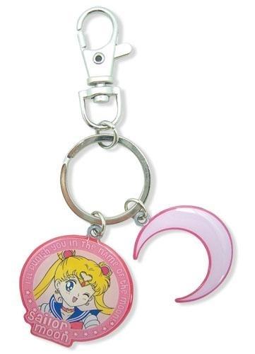 Sailor Moon: Sailor Moon Metal KeychainMetals Keys, Sailormoon, Metals Keychains, Sailors Moon, Moon Keychains, Sailor Moon, Symbols Metals, Moon Metals, Crescents Metals