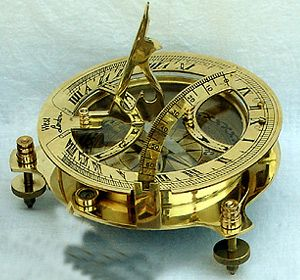 Nautical compass, for all those sea-farin' strangers
