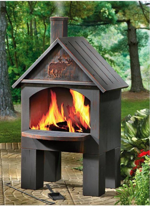 Outdoor fireplaces and Chiminea