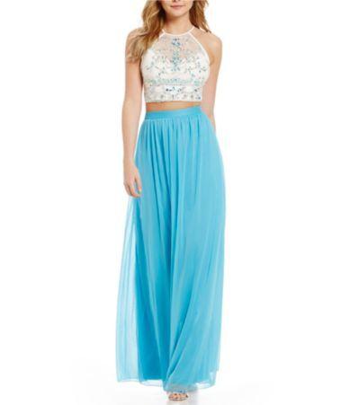 Color block dress dillards prom