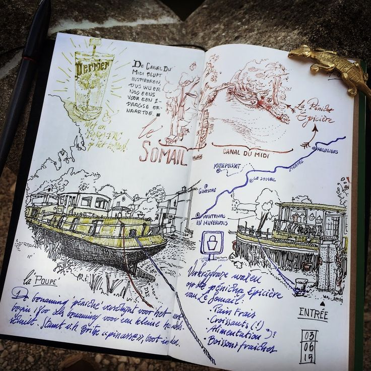Urban Sketches and Travel Journals on Moleskine