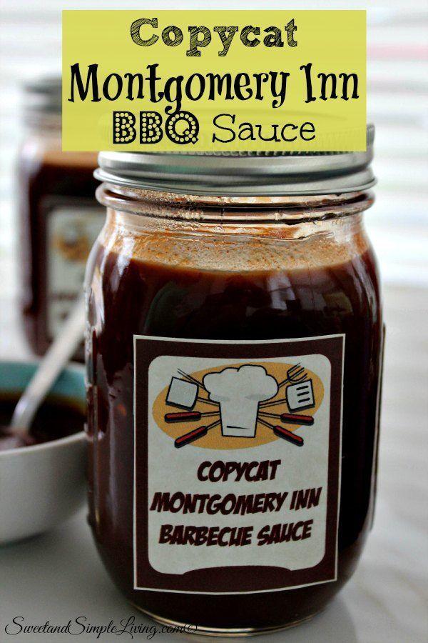 Copycat Montgomery Inn BBQ Sauce Recipe!