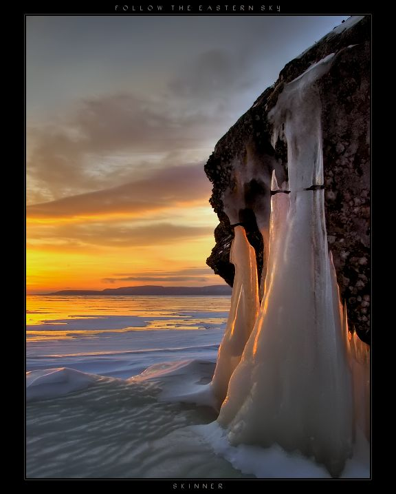 Winter Chill in Squaw Bay on Lake Superior, Thunder Bay ~ Ontario, Canada