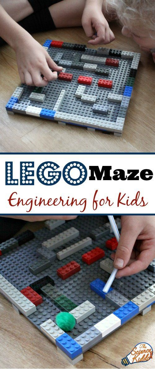 Put your engineering skills to build a LEGO maze, and plus 100 ways to learn and play with LEGO bricks!