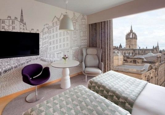 A quirky stay at a vibrant five-star hotel in Old Town Edinburgh, mere steps from the iconic Royal Mile