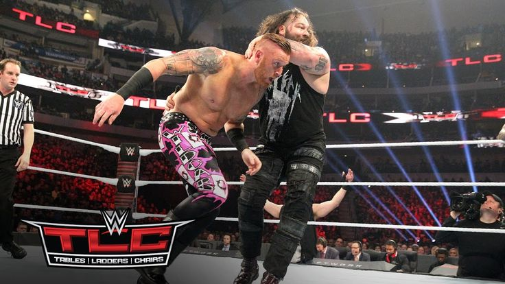 Heath Slater fights to survive against Bray Wyatt & Randy Orton: WWE TLC...