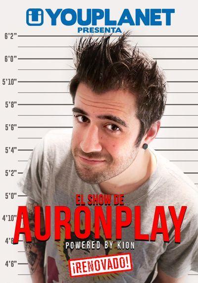 """Espectacle """"El show de AuronPlay"""". Club Capitol (Barcelona). 16 de setembre, 18 de novembre i 16 de desembre 2016"""