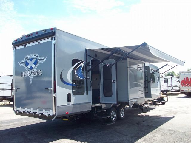 2016 31RGR Highlander By Open Range 2 Bedroom Travel Trailer With Rear  Patio | Open Range Travel Trailers | Pinterest | Open Range And Rv