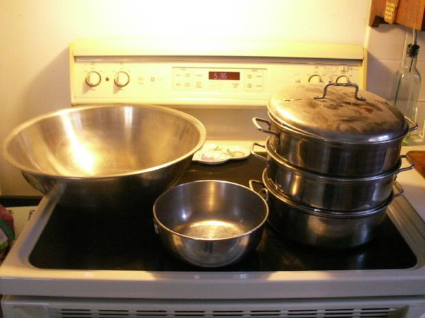 Using and making a stove top essential oil distiller