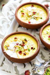 Shahi Kesar Khoya Phirni 60 Recipes to make this Diwali