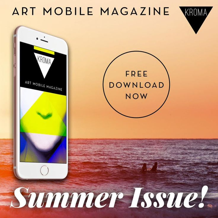 KROMA Magazine summer issue is here!  Download and enjoy. kromamagazine.com  #kromamagazine #pikatablet