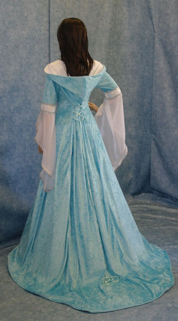 medieval handfasting renaissance dress custom by camelotcostumes, $266.00
