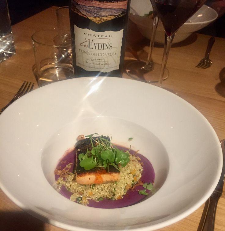 Restaurant Pastor salmon dish