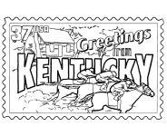 University of kentucky basketball coloring pages for Kentucky wildcats coloring pages