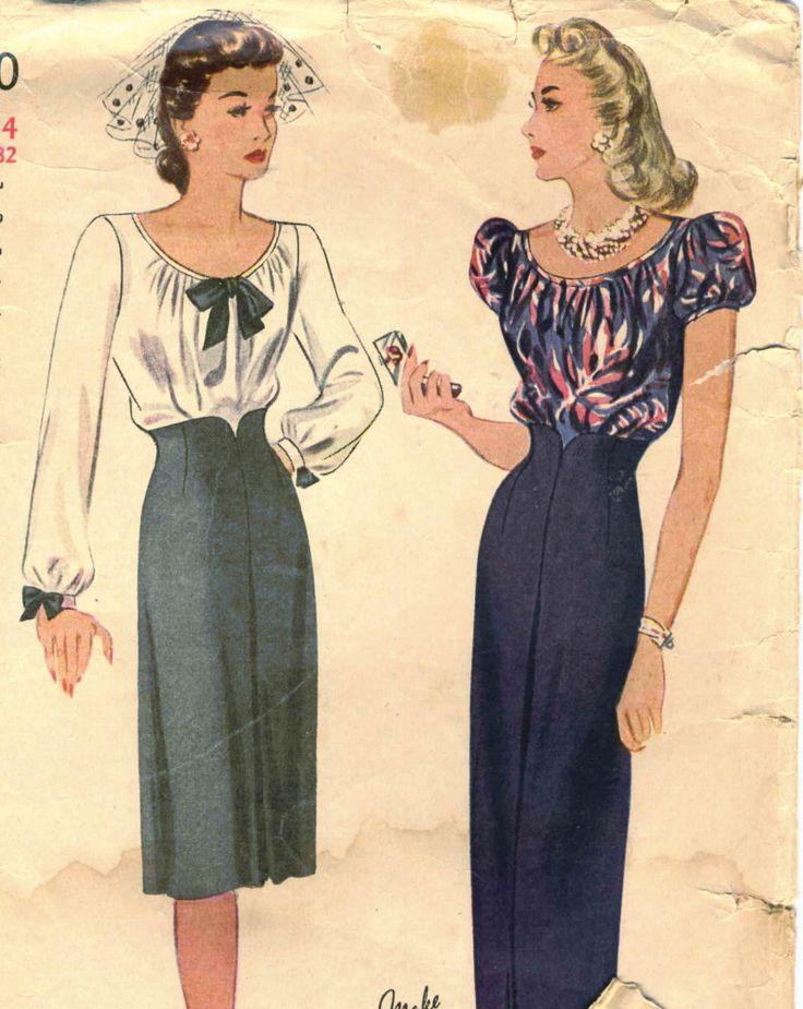 1940 s evening dress 6390