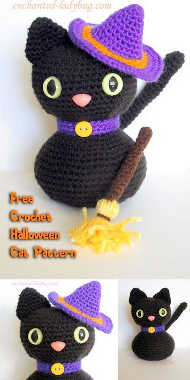 Cats Crochet Amigurumi Pattern Free, amigurumi for beginners ... | 1228x614