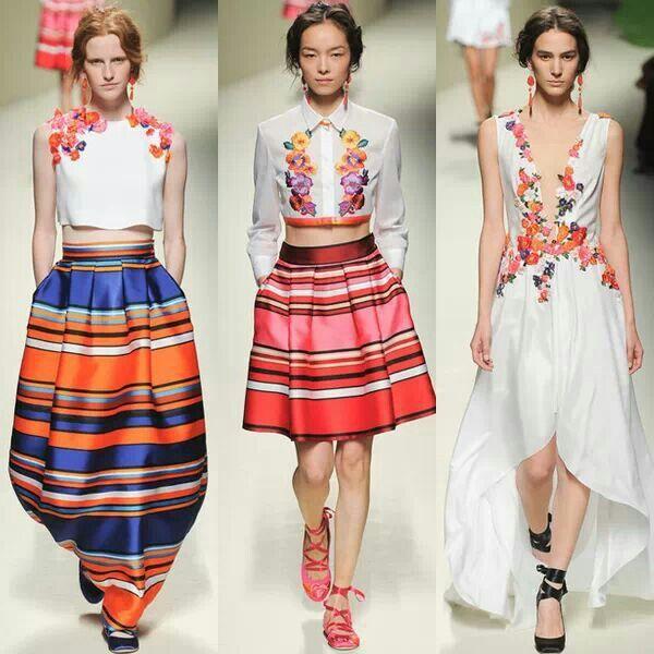 Alberta Ferretti homenaje a los textiles centroamericanos