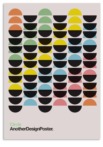 Kathy Kavan - from her set AnotherDesignPoster : Modernist Circles