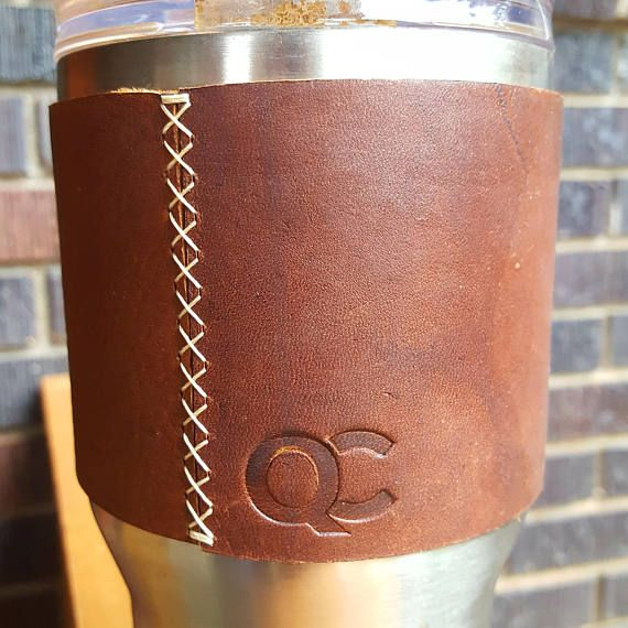 Custom Logo Stamp for Embossed Leather Insulated Cup Sleeve