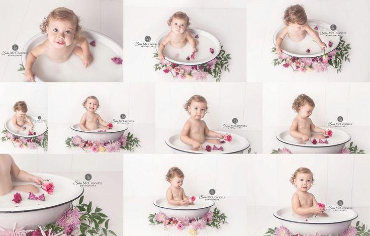 Sara McConnell Photography Blog » » Limited Edition Milk Bath Photography Sessions {Ottawa Photographer}