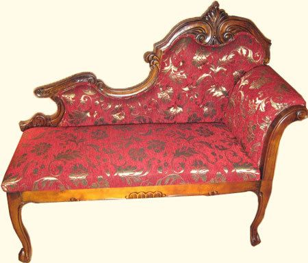 Swan Tub Love Seat Fainting Couch French Style And