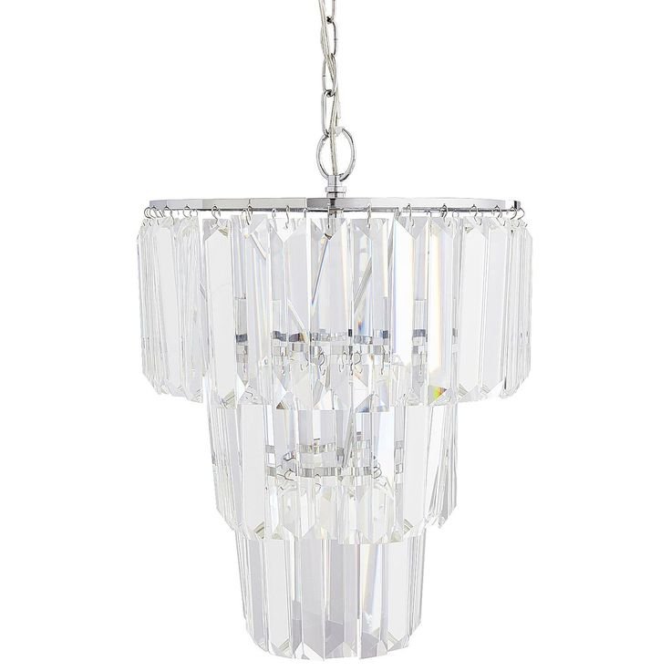 Leconte Crystal Pendant Light Clear