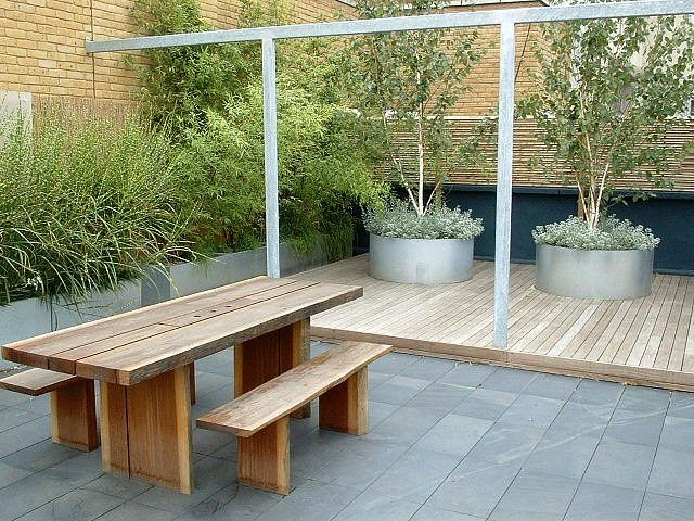 contemporary vegetable planters - Google Search