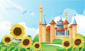 Výsledek obrázku pro kreslené hrady a zámky