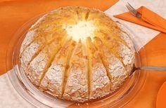 Mandarinen-Kuppeltorte Rezept: Sahnige Mandarinentorte mit einer leichten Zitronennote - Eins von 5.000 leckeren, gelingsicheren Rezepten von Dr. Oetker!