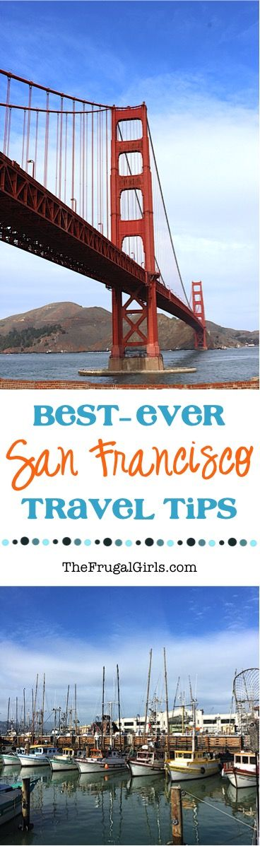 Best Things to do in San Francisco, California! ~ from TheFrugalGirls.com ~ Where to Eat + What you can't afford to miss!