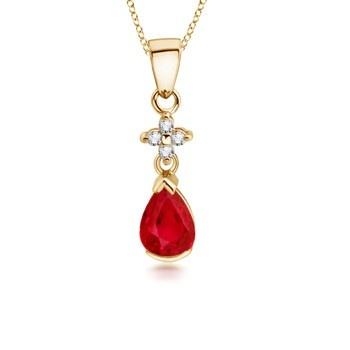 Angara Diamond Encrusted Everlon Knot Pendant htDDZyParP