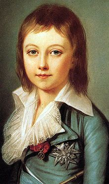 Louis XVII was the son of King Louis XVI of France and Queen Marie Antoinette.