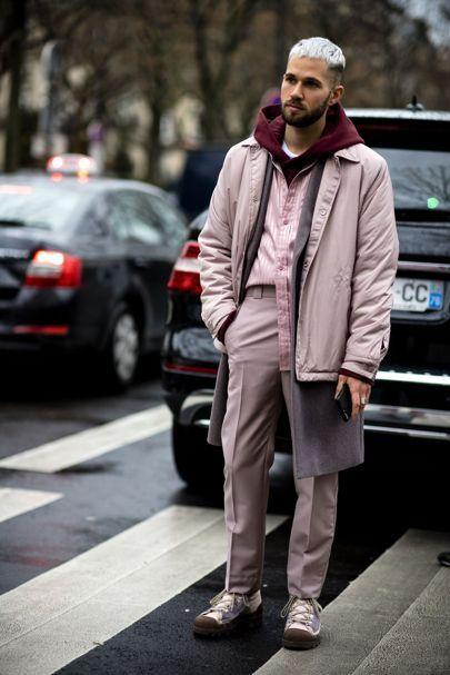 The slickest men's street style at Paris Fashion Week Women's AW17