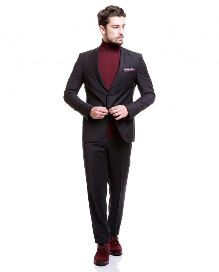 Toss Erkek Takım Elbise - Siyah #gentleman #suit #takımelbise #karaca #ciftgeyikkaraca  www.karaca.com.tr
