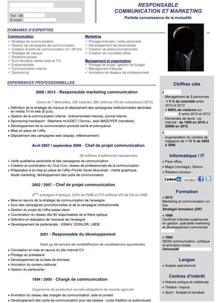 17 best Cv images on Pinterest | Resume templates, Resume and Curriculum