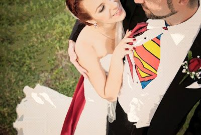 Superhero Themed Wedding... Can it be elegant?