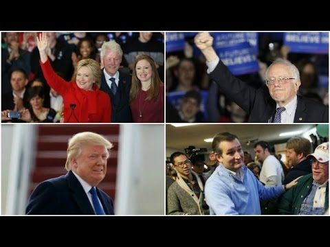 Ted Cruz beats Donald Trump in Iowa; Hillary Clinton, Bernie Sanders bot...