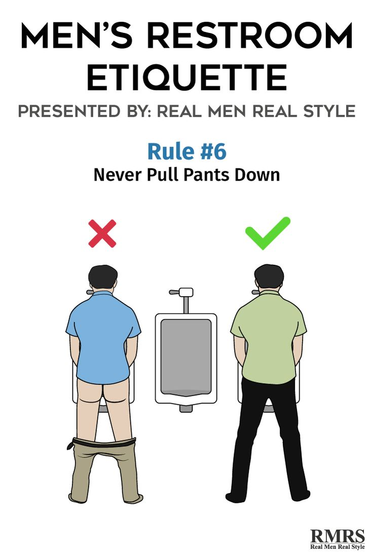 male restroom etiquette The most bizarre thing about female bathroom etiquette is that the vast majority of us women seem to have a phobia about having other people hear them pee.