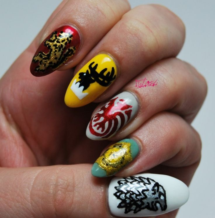 Nail Girl Games: Game Of Thrones Nail Art Http://talontedlex.co.uk/tagged