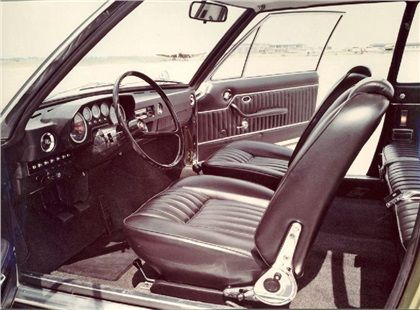 Tatra T613 Prototype (Vignale), 1969 - Two-Door Coupe (#0-00-26) - Interior