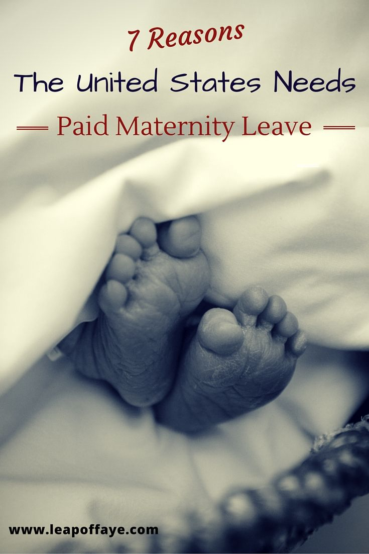 Did you know that the U.S. is 1 of only 3 countries (and the ONLY industrialized country) that does not mandate paid paternal leave?