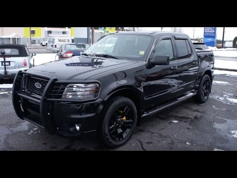 2010 Ford Explorer Sport Trac Adrenalin Walkaround, Start up, Tour and Overview - YouTube