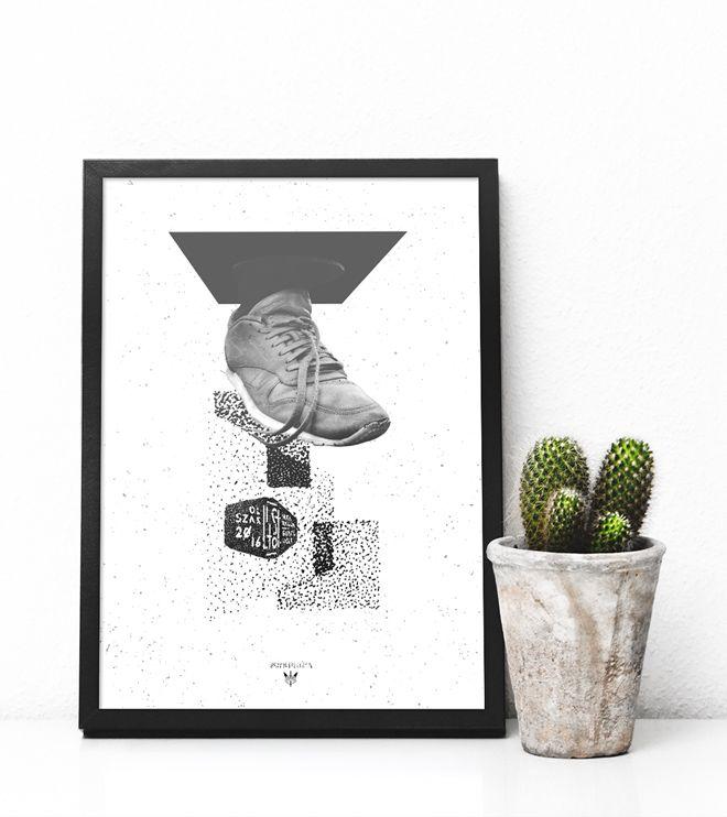 Łajza - plakat print