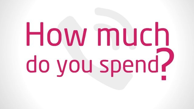 And how much DO YOU SPEND ? :)