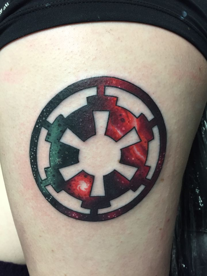 Storm Trooper Tattoo Simple